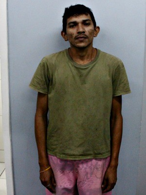 Lavador confessou que recebeu R$ 50 para se passar por suspeito em coleta de material biológico (Foto: Adneison Severiano/G1 AM)