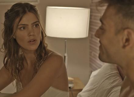 Alina desconfia das aulas de tango de Uodson com Piedad