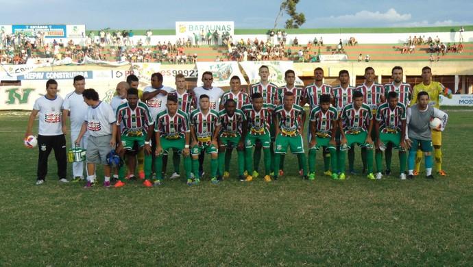 Baraúnas x Globo FC (Foto: Yhan Victor)