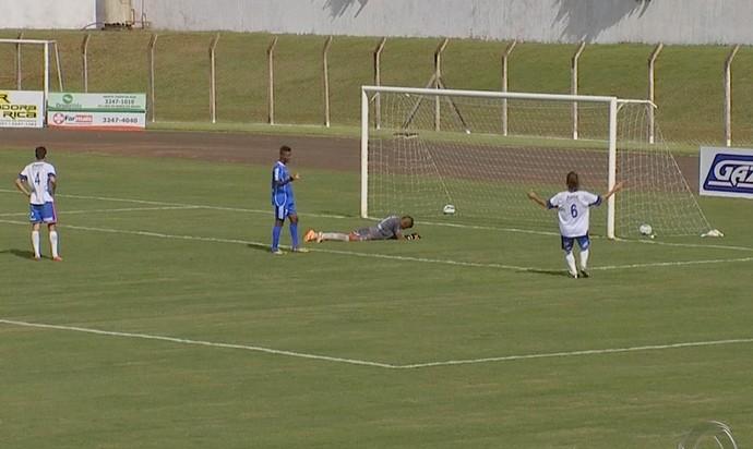 Lambança na 3ª rodada do Campeonato Sul-Mato-Grossense (Foto: Reprodução/TV Morena)