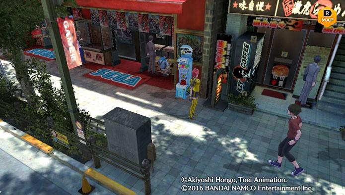 Você também poderá ver réplicas de locais reais do Japão, como Akihabara (Foto: Reprodução/Tais Carvalho)