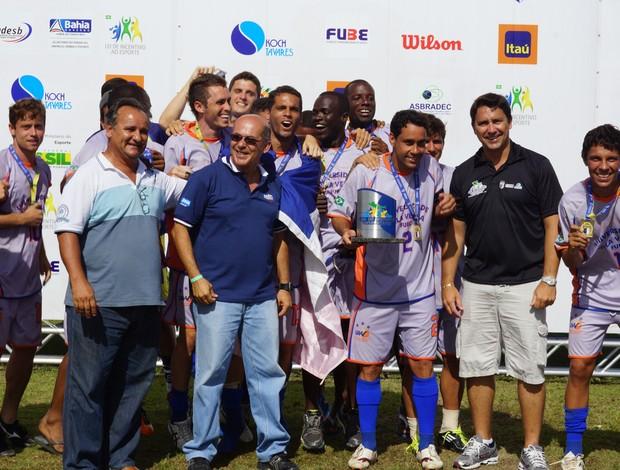 Time da UVV-ES foi campeão brasileiro universitário (Foto: Thiago Parmalat)