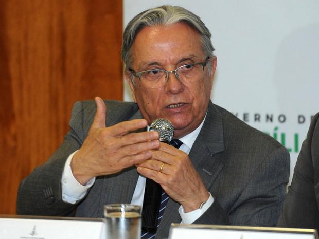 O superintendente executivo do Hospital da Criança, Renilson Rehem, em entrevista no Palácio do Buriti (Foto: Renato Araújo/Agência Brasília)