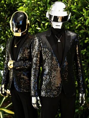O duo francês Daft Punk (Foto:  Matt Sayles/AP)