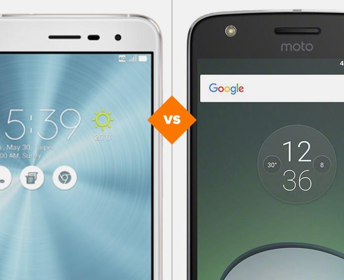 Zenfone 3 ou Moto Z Play: veja qual intermediário tem o melhor custo-benefício (Foto: Arte/TechTudo)