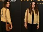 Cleo Pires rouba a cena em inauguração com jaqueta de R$ 7 mil