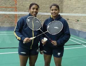 Pan badminton Luana e Lohaynny Vicente