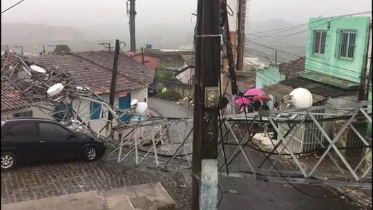 Chove o esperado para dez dias no Recife; previsão é de mais chuva