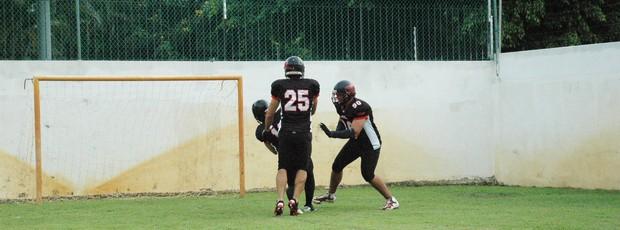 joão pessoa espectros futebol americano (Foto: Lucas Barros / Globoesporte.com/pb)
