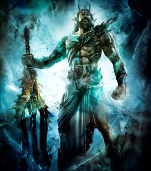 Poseidon é um dos deuses que o jogador pode ser leal para representar no modo on-line (Foto: Divulgação)