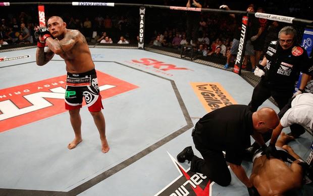 MMA thiago silva (Foto: Agência Getty Images)