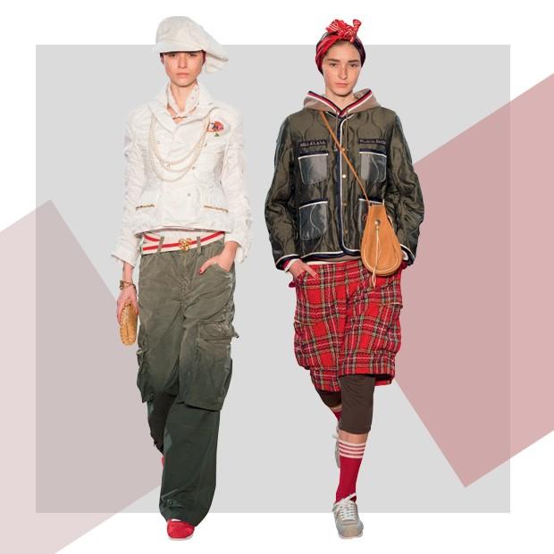Undercover: No verão 2017, o japonês Jun Takahashi mostrou roupas que mergulham no contemporâneo da moda urbana, acrescentando-lhe fantasia e certo lirismo (Foto: ImaxTree e Divulgação)