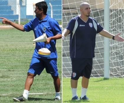 Luciano Baiano e Rodrigo César, Osvaldo Cruz e Grêmio Prudente (Foto: Editoria de Arte)