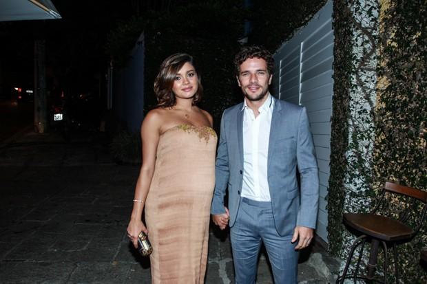 Sophie Charlotte e Daniel de Oliveira (Foto: Marcello Sá Barretto/ AgNews)