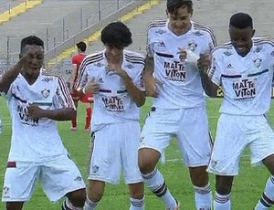 Fluminense x Capivariano, Copa-SP Copinha 2016 (Foto: Reprodução)