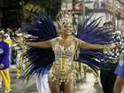 Vídeo: Paulo Barros samba com Juliana Alves após desfile da Tijuca