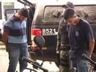 Suspeitos de tráfico são detidos com carta que pode ser de preso (Reprodução/TV Anhanguera)