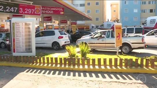 Preço médio da gasolina cai pela 10ª semana seguida, diz ANP