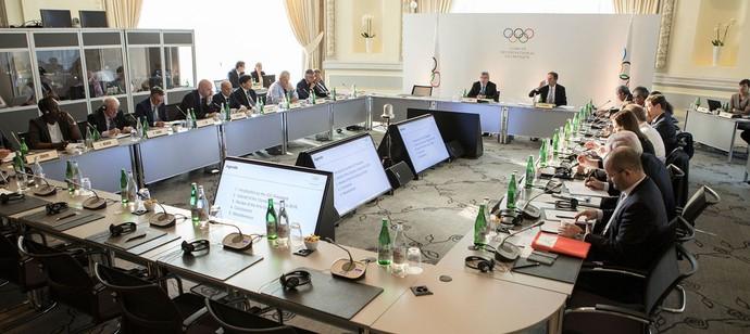 Reunião do Comitê Olímpico Internacional (Foto: Greg Martin/IOC)