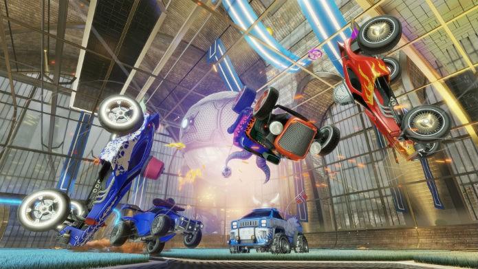 O caos toma conta de Rocket League (Foto: Divulgação)