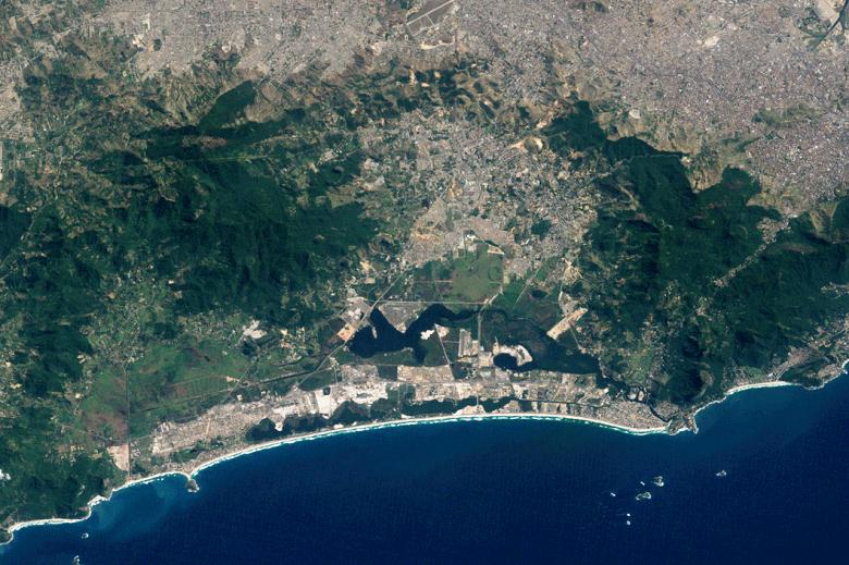 Mudanças foram severas, já que a população da cidade cresceu, aproximadamente, 12 milhões de pessoas (Foto: Divulgação/Nasa)