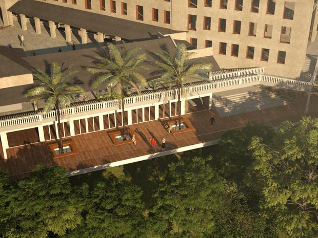 Também será construído um restaurante com vista panorâmica (Foto: Divulgação/ Paineiras-Corcovado)