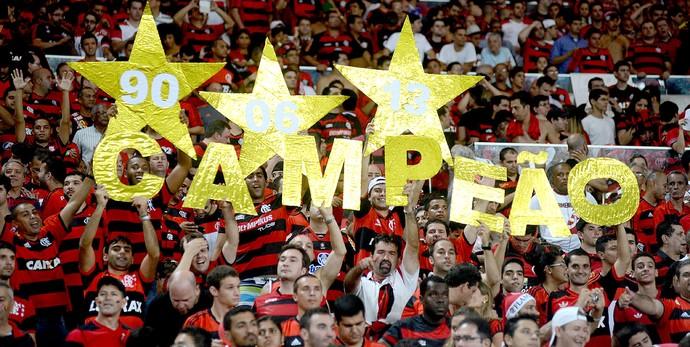 torcida Maracanã final Copa do Brasil Flamengo x Atlético-PR (Foto: André Durão / Globoesporte.com)