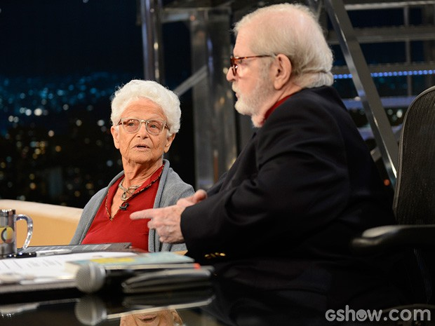 Nora Rónai participa do Programa do Jô desta sexta-feira (Foto: TV Globo/Programa do Jô)