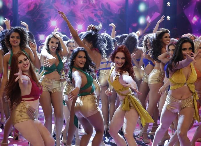 Bailarinas se apresentam na semifinal (Foto: Felipe Monteiro/Gshow)
