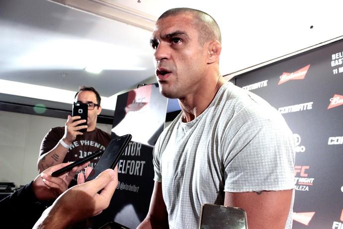 Vitor Belfort, UFC (Foto: Adriano Albuquerque)