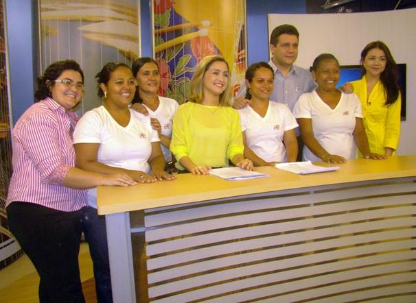 Amigos da Tv Clube (Foto: TV Clube)