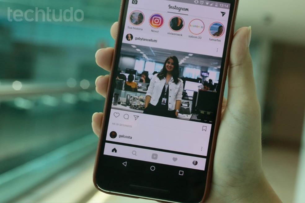 Veja os truques para gerenciar os posts do Stories no Instagram para Android (Foto: Carolina Ochsendorf/TechTudo)