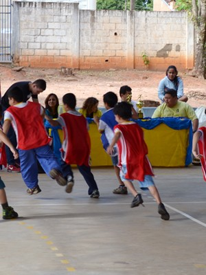 Projeto de Educação Física promove 1ª Euricopa em escola de Adamantina (Foto: Daniel Torres / Divulgação)