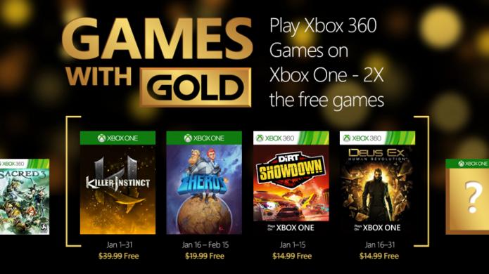 Deus Ex: Human Revolution e Killer Instinct são dois dos games de janeiro da Xbox Live (Foto: Divulgação/majornelson.com)