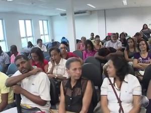 Ação de reconhecimento de paternidade da Defensoria Pública da Bahia (Foto: Reprodução/TV Bahia)
