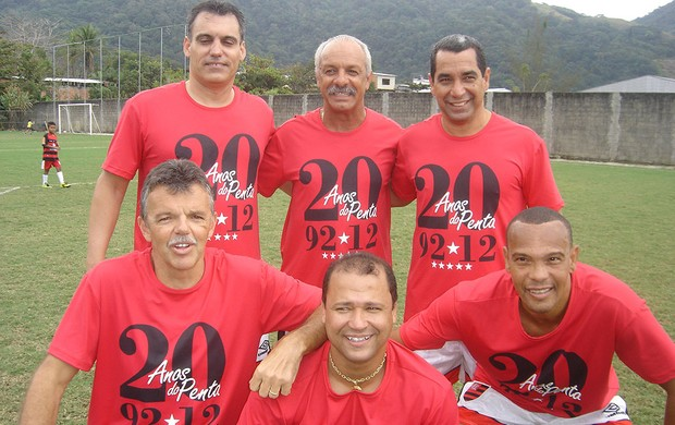 Pelada 20 Anos do Penta, Flamengo (Foto: Igor Castello Branco / Globoesporte.com)