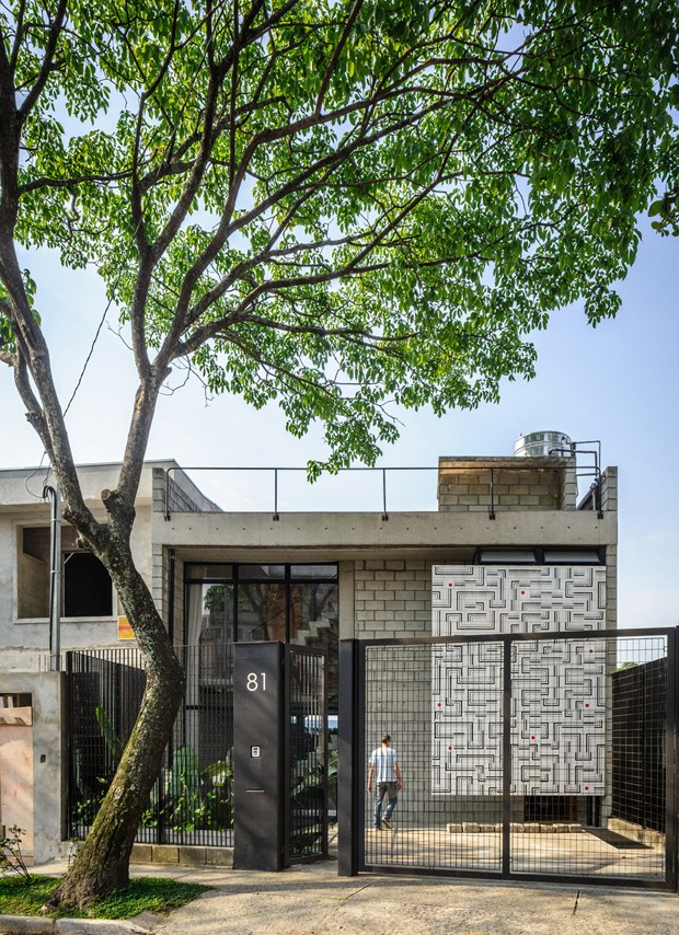 Terra-e-Tuma-Casa-Maracana-fachada (Foto: Pedro Kok)