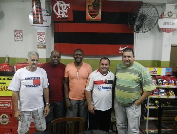 Torcedores do Flamengo em Uberlândia (Foto  Diego Alves) c8b46574f4303