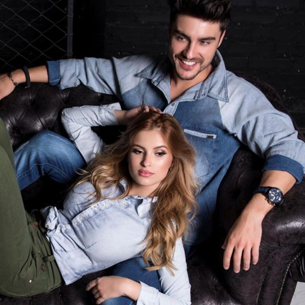 Bruna Altieri e Guilherme Leicam (Foto: Instagram/Reprodução)