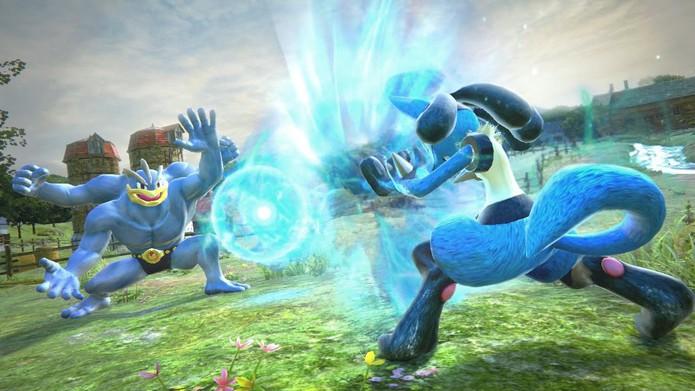 Pokkén Tournament levará às batalhas pokémon ao Wii U em julho de 2016 (Divulgação/Nintendo)