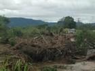 Barranco desmorona e eletricista desaparece em arroio de Agudo, RS