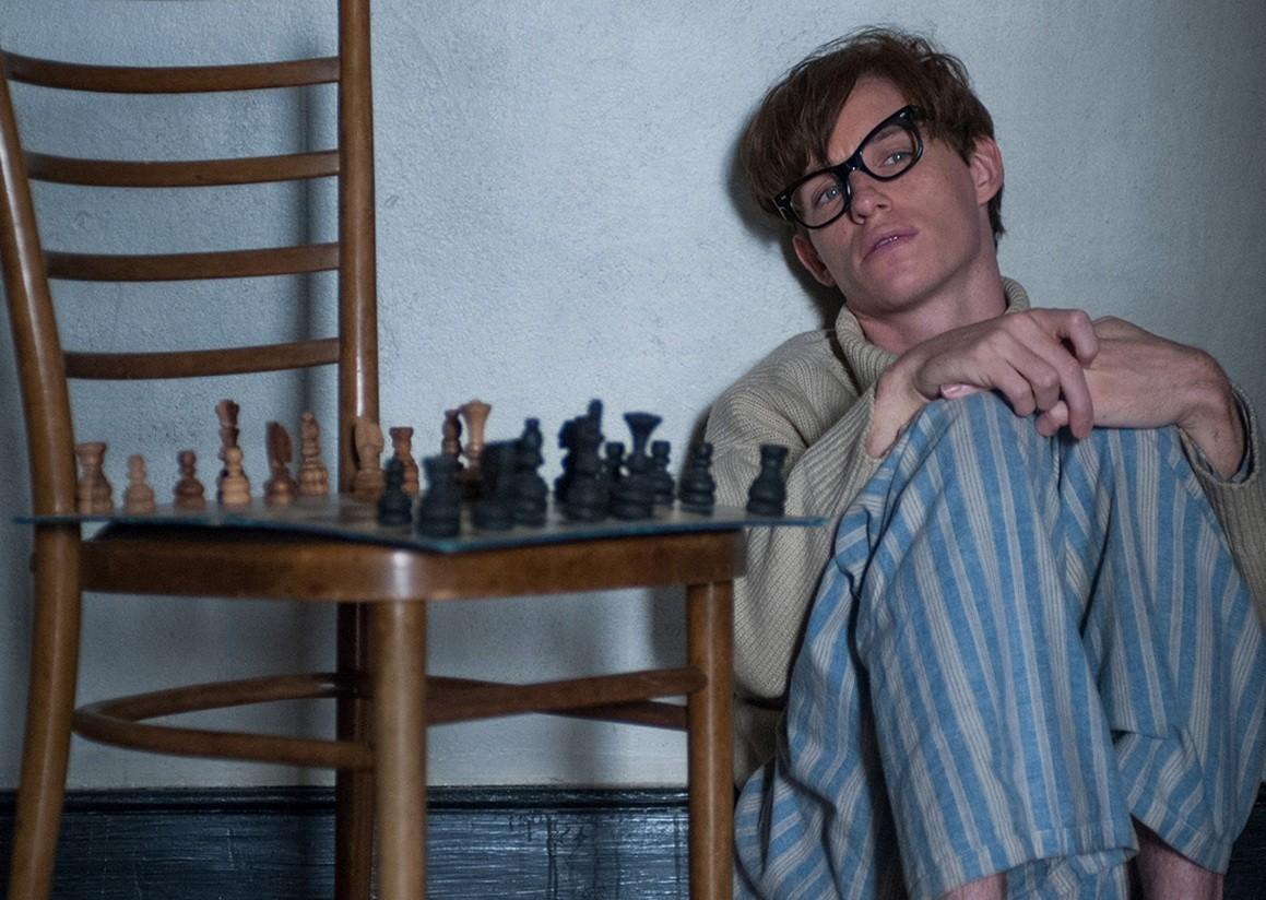 Eddie Redmayne como Stephen Hawking (Foto: Divulgação)