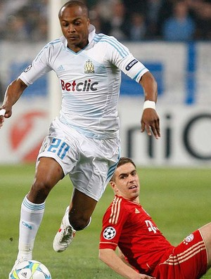 Andre Ayew Olympique Marseille - Olympique Marseille X Bayer (Foto: Agência Reuters)