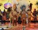Cinthia e Thainara foram escolhidas na segunda eliminatória (Caldeirão do Huck/TV Globo)