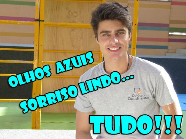 Vitor é tudo (Foto: Malhação / TV Globo)