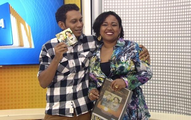 Artistas falam de novo trabalho (Foto: Roraima TV)