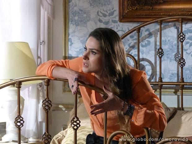 Leila maquina uma saída: Thales seduzir Natasha (Foto: Amor à Vida/TV Globo)