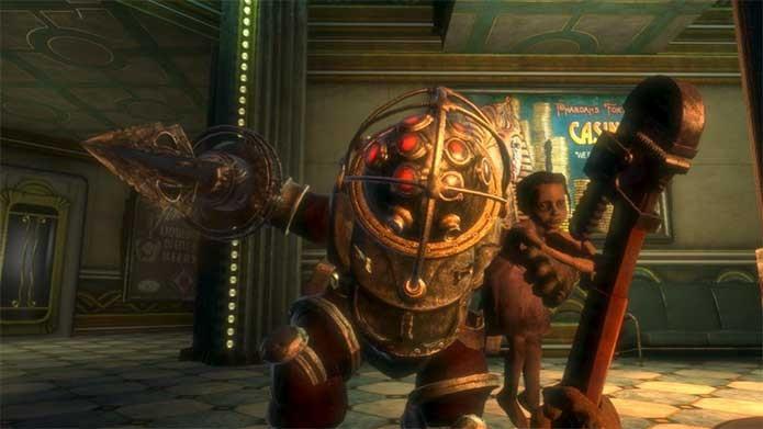 O Big Daddy do primeiro BioShock (Foto: Divulgação/2K Games)