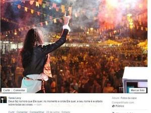 Cantora gospel Tania Levy teve pedido de liberdade negado pela Justiça, segundo o MP - São Pedro (Foto: Reprodução/Facebook)