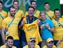Austrália dá canguru a Paes em clima de 'pazes' (Edgard Garrido/Reuters)